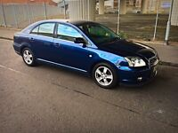 Clean : Toyota Avensis T3! LOW 89k MILES MOT 03/17! 2 Owners!