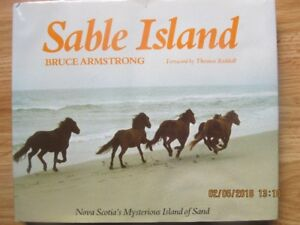 SABLE ISLAND by Bruce Armstrong, 1981 1st Edition.