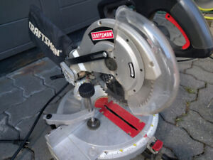 "10"" Craftsman Compound Miter Saw"