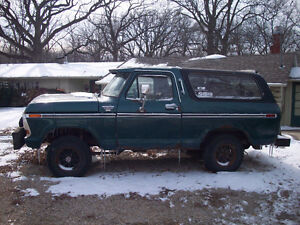 Wanted - 1978 - 1979 Ford Bronco