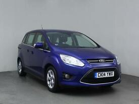 2014 FORD GRAND C MAX 1.6 TDCi Zetec 5dr MPV 7 SEATS