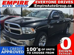 2014 RAM 1500 HEMI * 4WD * ONE OWNER * LOW KM