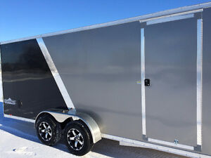 7x23 Drive in and out Snowmobile Trailer Kitchener / Waterloo Kitchener Area image 6