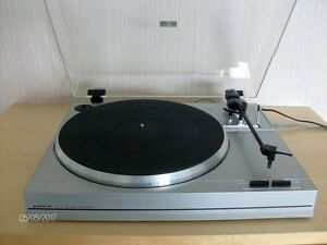 Belt-Drive Turntable Record Player