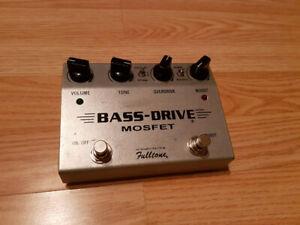 Pédale Fulltone Bass-Drive Mosfet