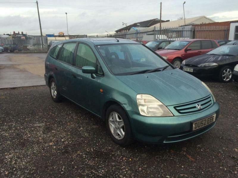 2002/52 Honda Stream 1.7i VTEC SE LONG MOT 7 seater | in ...