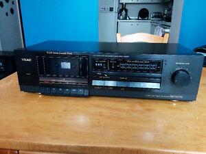 teac v 255 stereo cassette deck