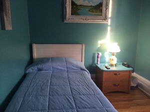 Nicely Furnished Room in St. Thomas. Available Janusry 1st.