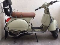 Vespa 125 with 177cc kit