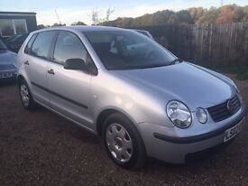 VW POLO 1.4 TWIST 5DR AUTO * VERY LOW MILEAGE ONLY 41k * IDEAL FIRST CAR *CHEAP INSURANCE *HPI CLEAR