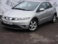 2010 HONDA CIVIC 1.8 I-VTEC SE FULL SERVICE HISTORY LAST AT 98K 6 DISC CD PLAYER