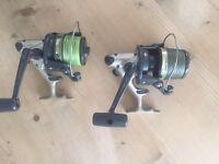 DAIWA EMBLEM -S 4500T BIG PIT LONG CAST CARP FISHING REELS - JUST £70 pair