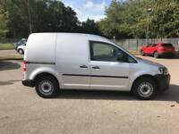Volkswagen Caddy 1.6 75PS STARTLINE EURO 5 DIESEL MANUAL SILVER (2014)