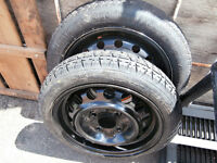 flat tire space saver 4 bolt 1 small and biger size 450-628-4656