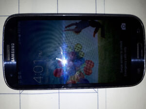 Sumsung Galaxy S3. Chargeur inclu.