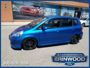 2007 Honda Fit Sport5 Speed / PWR GRP / ALLOYS
