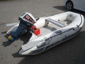10ft inflatable with Honda 10hp Four stroke