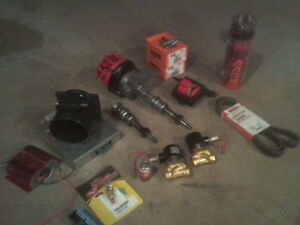 ford 5.0 chipped ECU/distributor, lightening maf and more