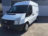 2011 60 FORD TRANSIT VAN 2.2TDCi T280M MWB MEDIUM ROOF WHITE LOW MILES NO VAT