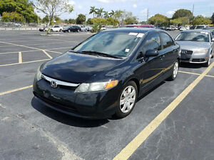 2007 HONDA CIVIC, AUTO, 102K ONLY, HOT DEAL / CERTIFIED