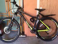 Men's mountain bike.
