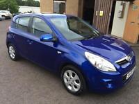 5909 Hyundai i20 1.4 Comfort Blue 5 Door 50178mls MOT 12m
