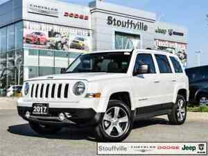 2017 Jeep Patriot High Altitude, 12,800 KMS, Roof, Leather