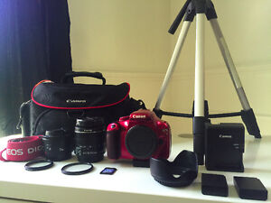 Canon Rebel T3 Edition Red