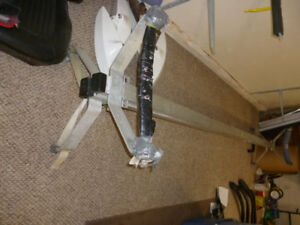 Rowing skiff car rack-aluminum (2)