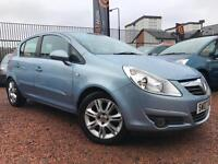 *12 MTHS WARRANTY*2007(07)VAUXHALL CORSA 1.4 DESIGN 5DR ONLY 51K*