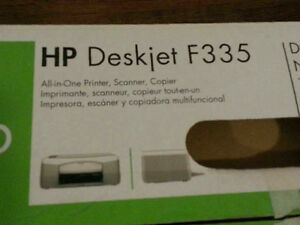 HP Deskjet F335 All in One Printer, Scanner, Copier (new)