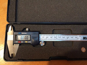 height gage, 0-6 Depth mic, and verniers