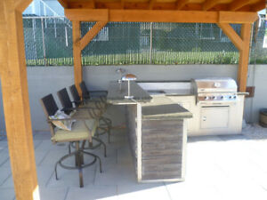 Outdoor Kitchen, Barbeques, Outdoor Living, Fire tables