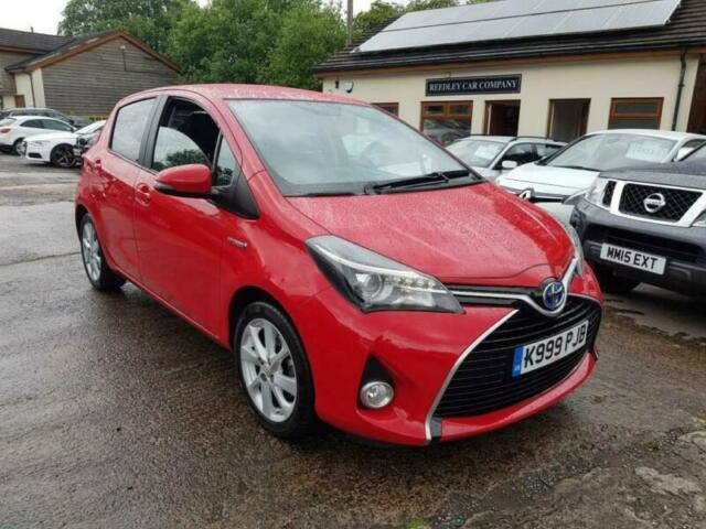 2017 Toyota Yaris Hyrbid 1 5 Excel SAT NAV REVERSE CAMERA CVT AUTOMATIC |  in Burnley, Lancashire | Gumtree