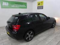 BLACK BMW 1 SERIES 2.0 118D SPORT ***from £41 per week***