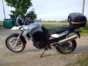 Factory lowered 650GS for sale