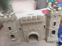 Castle, toys