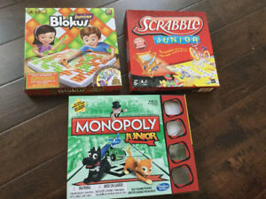 3 Children's games