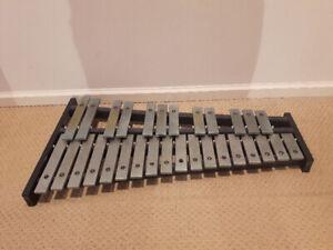 Rare Deagan 1558 Steel Bar Glockenspiel