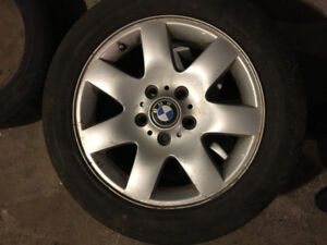 16 inch BMW rims. Great shape.
