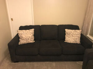 Couch  Charco grey 3 seater