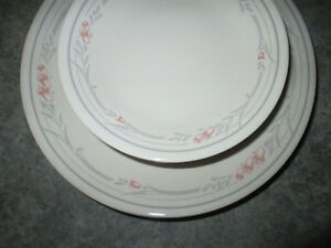 CORELLE DISHES FOR 12