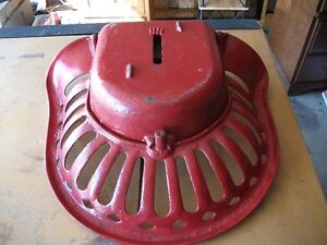 Antique Cast Iron Tractor Seat with built in tool box Belleville Belleville Area image 4