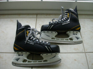 Bauer Supreme Force Adult skates size 8.5D (shoe size 10)