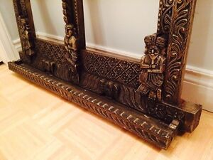 Double hand carved wooden frame West Island Greater Montréal image 4