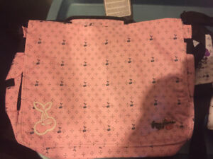 New Foxy Jeans laptop bag - pink with cherries design