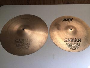 Sabian AA & AAX Crash Cymbals