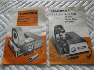 Hanimex La Ronde Auto 500 35mm Colour Slide Projector