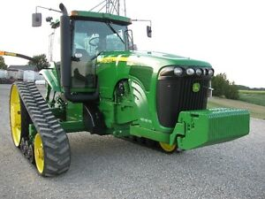 John Deere 8420T Tractor - like new - 1900 hrs London Ontario image 2