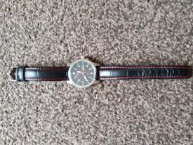 Citizen, mens watch, eco drive leather strip